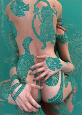 body painting pictures full body